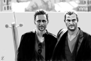 Tom and Chris - Loki and Thor by Aquila--Audax