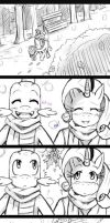COMIC: .:Sparity:. Mistletoe... by ss2sonic