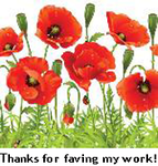 Free To Use Poppies Clip Art by recycledrelatives