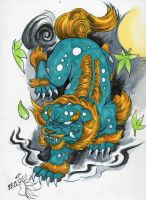 foo dog by jamed913