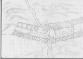 Tracked polar transporter by Thaumaturgist-Dave