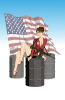 Sarah Palin by khazen