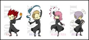 KH Keychains by faore