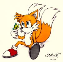 Tails: Butterfly by RAWN89