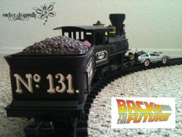 BTTF 3 Train by RockerDragonfly