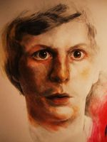 coloured closeup michaelcera by EliciaElric