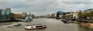 View from Tower Bridge by kimjorsing