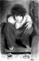 L of DeathNote by moonx123
