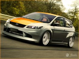 Ford Focus Wide by GoodieDesign