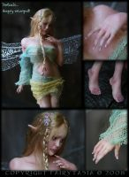 OOAK Fairy Demii Detail Shots by fairytasia