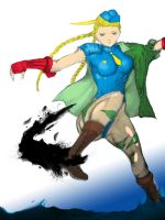 Cammy colored by CZAY