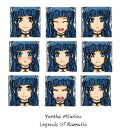 Yureka Icons by SilverRacoon