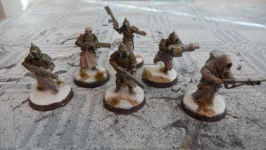 Nurgle Renegade Infantry Platoon by Dible