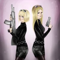 Sisters Thompson by SophiaConscience