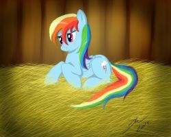RainbowDash by rule1of1coldfire