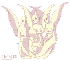 3 Little Angels Base by thecity2011