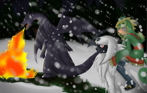 Challenging the Blizzard by summermon