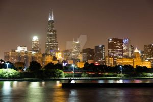 Chicago - Willis Tower by ANNIHILATOR001