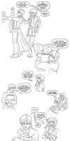 In Other Worlds Sketch Comic: Wibbly Wobbly by novemberkris
