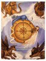 Wheel of Fortune Tarot by Terrauh