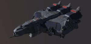 ACSV-21200 Destria: Commercial Towing Vehicle by Sorceress2112