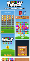 Blocks Frenzy Puzzle Kit by hamdirizal