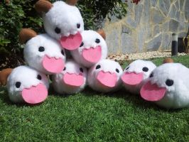 Poro party by lawy-chan