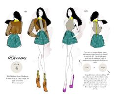 PROJECT RUNWAY Week 4: Woman On The Go by i-anni