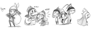 DFT Doodles by Boatswain-Koii