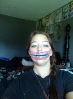 Large Smile Halloween Makeup by Daylighter123