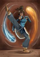 Korra is in da house by Rosana127