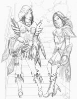 HON Sisters by gonesketchy