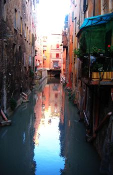 Venice at Bologna by Cecilrac