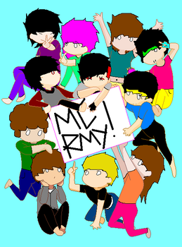 MCRMY!!! by brokenSCREAM10
