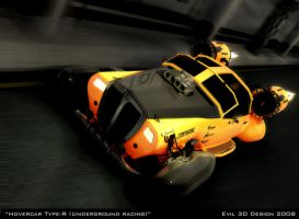 Hovercar Type-R by MaxEvil3D