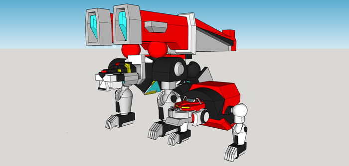 Voltron wip 6 by Lilscotty