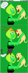 Peridot Meets a Laser Puppy by SmileWhenDead