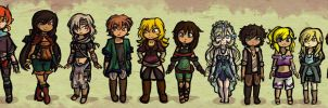 Zelda OCs Enhanced by Linkerbell