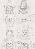 The Many Stages of PMS by PoisonedRose12
