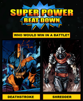 Super Power Beat Down #1 by HewyToonmore