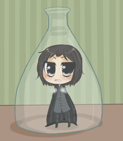 LET ME OUT: snape by B4CKBONE