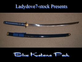 Blue Katana-Pack by AngelaSasser-stock