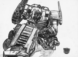 Optimus Prime G1 by Fahad-Naeem