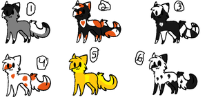 .:Adoptables~!:. Wild cats~! ((Human cats~!)) by Lunahthekitty