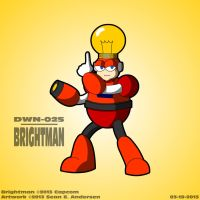 Mega Man 4 - Brightman by TheRealSneakers