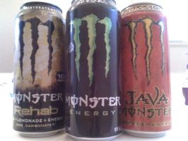 3 Random Monster Cans by EmothXIII