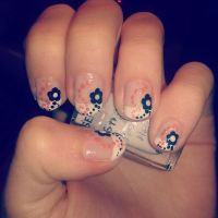French manicure by LesleeTussa