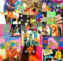 80s Happy Girly Tribute Collage by LivelovelifeEleni