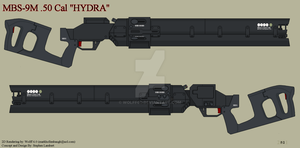 Avatar MBS-9M HYDRA .50 Cal by Wolff60