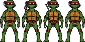 Teenage Mutant Ninja Turtles (Mirage Comics) by MicroManED